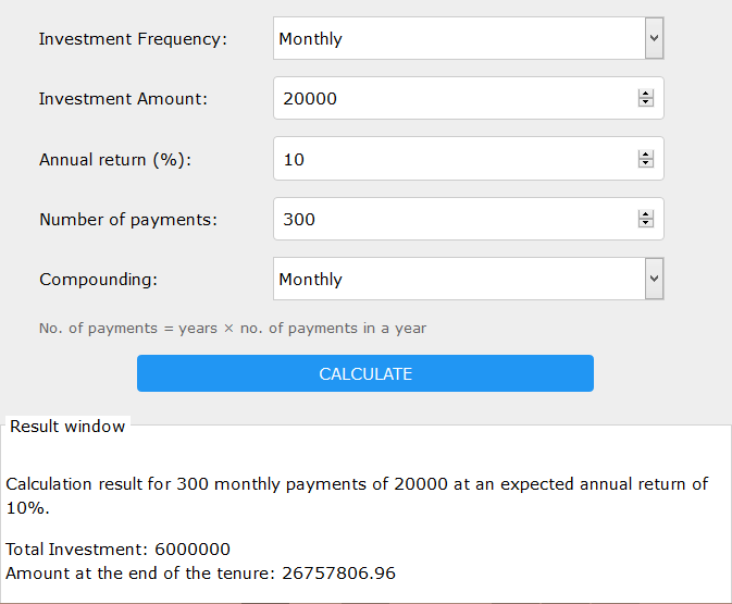 retirement planning scenario